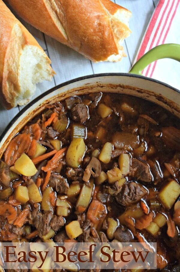 Easy Irish Beef Stew Recipe Is Hearty And Satisfying It S Perfect For Any Time Of Year