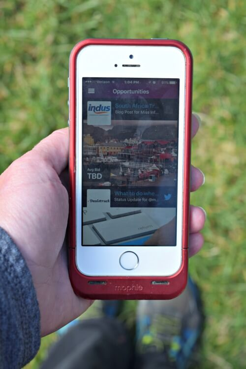How to find sponsored blog content and get paid right from your iPhone!