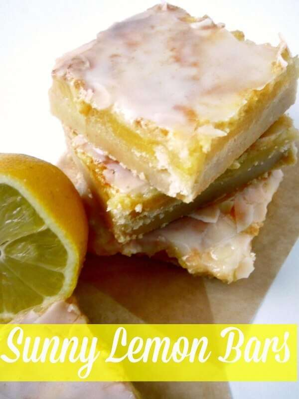 This easy lemon bar recipe is perfect for spring and summer and it's the perfect blend of tart and sweet pin it and make some this week