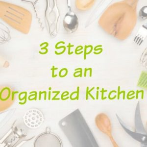 Kitchen Organization Tips