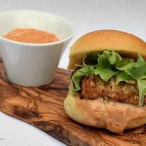 These easy crab cakes make the perfect slider for summer with Martin's Potato Rolls and homemade bread crumbs