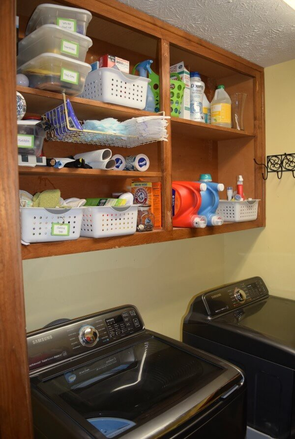 laundry-room-redo-renovation-ikea-proctor-and-gamble-P&G-downey-tide-teach-kids-laundry