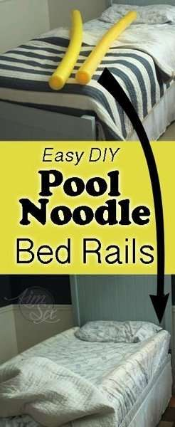 10 Brilliant Ways to Use Pool Noodles to DIY Your home, including a video with 8 more!