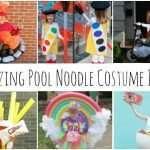 Amazing Pool Noodle Halloween Costumes