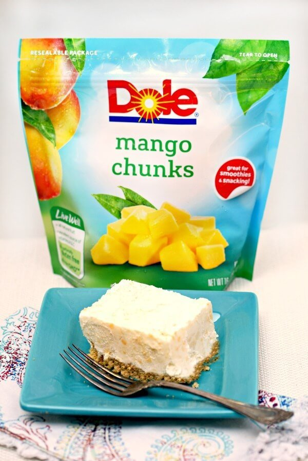 Mango dessert bars are a tart, creamy, and easy dessert when you need that something special that's quick to make.