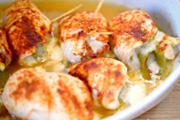 Mexican Chicken Roulades with Green Chilies | Miss Information
