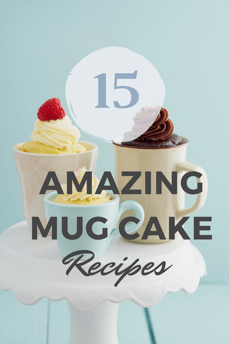 Mug Desserts are a fun way to enjoy cake without having to make a big cake you can never finish. Here are over 15 microwave mug cake recipes for you to enjoy anytime and some even remove the guilt with healthier options.