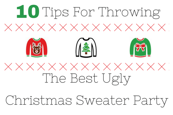 7a3d64b89c Ugly Christmas Sweater Party Ideas | Miss Information