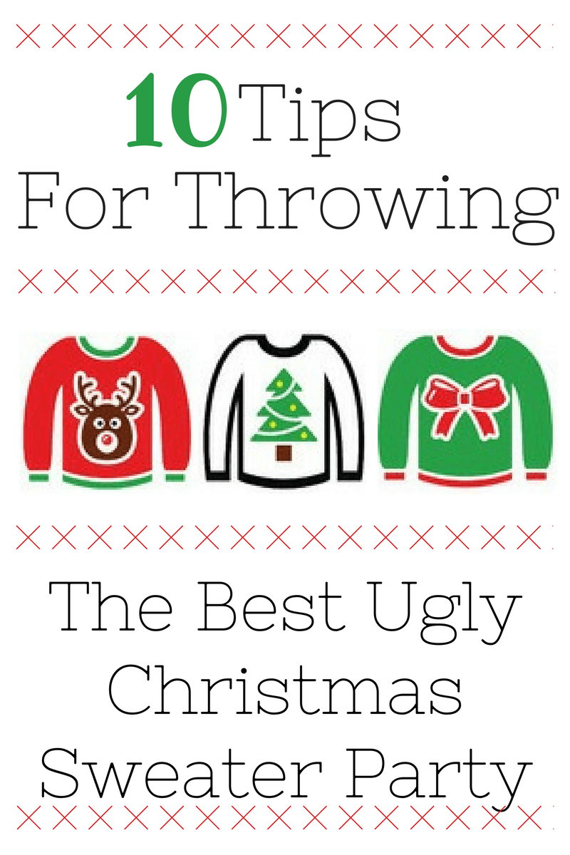 Ugly Christmas Sweater Party Ideas | Miss Information