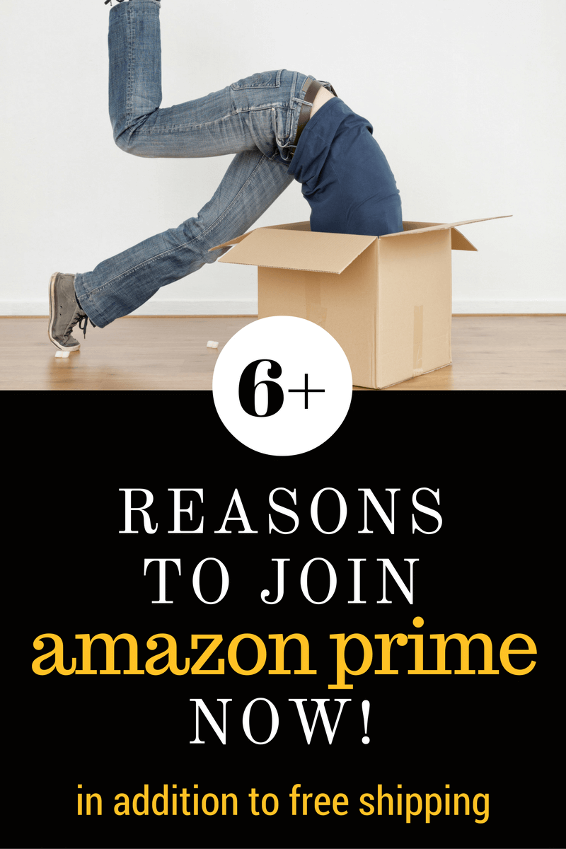 Amazon Prime is one of the best memberships you can purchase.  Here are over 6 reasons why I signed up for Amazon Prime and you need to now!