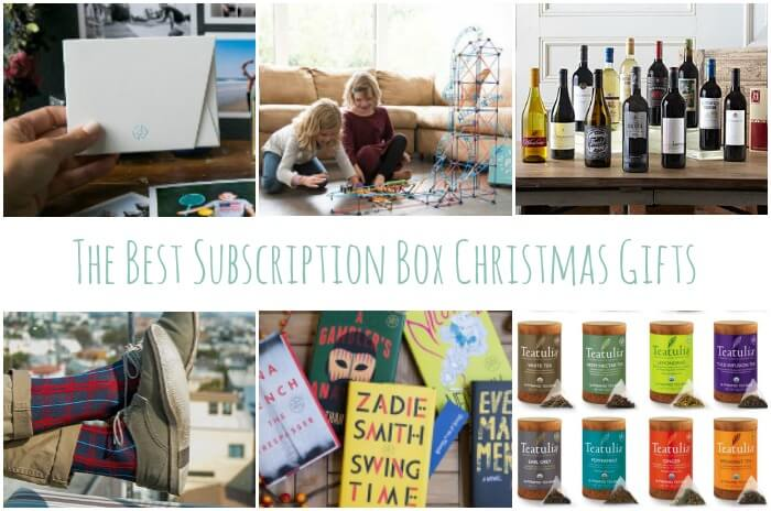 Subscription Boxes Christmas Gifts that Keep Giving | Miss Information