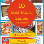 Have a Family Game Night with one of these great games and a Tony