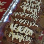 Cranberry Almond Chocolate iscotti is fun to make and great to give as a gift