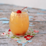Agua Loca - This sweet & fruity drink has just 2 ingredients! {i love my disorganized life