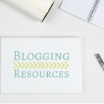 Blogging resources to help you create beautiful blog content on your website! See my favorite blogging resources for photos, editing, newsletters, and more!
