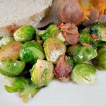 Bacon and Onion make this brussel sprout recipe one your family will love. Hate brussel sprouts you have to try these!