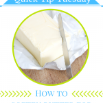 Want to bake and have no time to wait for your butter to soften? Here