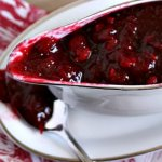 Make this 10 minute homemade cranberry sauce for Thanksgiving with pecans, orange and cinnamon. You family with thank you I promise