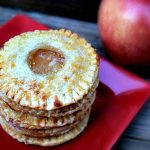 Baked Apple Pie Cookies - All of the flavor of a homemade apple pie in a mini sized cookie!