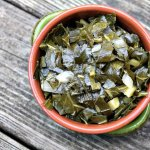 Make rich flavorful collard greens in your crockpot or slow cooker and learn about pot liquor. It