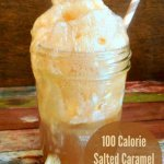 Salted Caramel Root Beer Float - Make this popular ice cream treat with only 100 calories