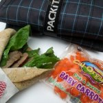 Steak Sandwich wrap perfect for back to school lunch!