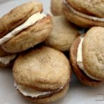 Creme Filled Snickerdoodle Sandwich Cookies