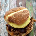 Smokey Hawaiian Pulled Pork, make it in your slow cooker for a yummy summer meal