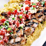 Grilled Greek yogurt chicken has a marinade, making moist chicken a foolproof recipe for the grill. Get the healthy, flavorful easy grilling recipe here!