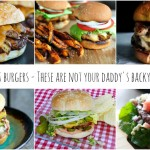 12 Gourmet Burger Recipes including turkey, seafood, beef and a burger bar! It
