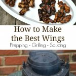 Grilled Chicken Wings - Beginning to end the best wings ever - Miss Information