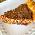 Traditional Pecan Pie made the southern way with Karo syrup it