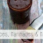 Sauce recipes and marinade recipes from the Miss Information Blog