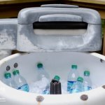 Turning A Vintage Washing Machine Into A Cooler | Hearts & Sharts for Miss Information | www.missinformationblog.com